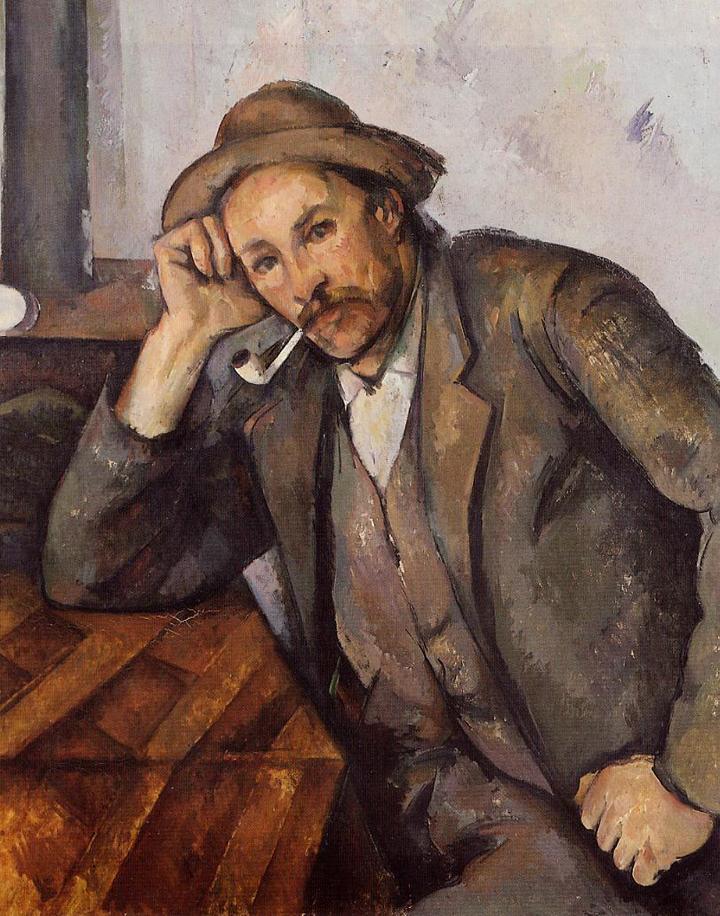Paul Cézanne: Kuřák, 1892