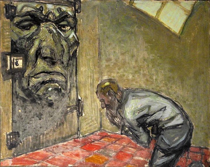 Jean Georges Cornélius: ilustrace ke knize Oscara Wildea Balada ze žaláře v Readingu (Javal et Bourdeaux, Paříž, 1927)