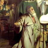 Joseph-Wright-Alchymista-hledajici-kamen-mudrcu-1771-b