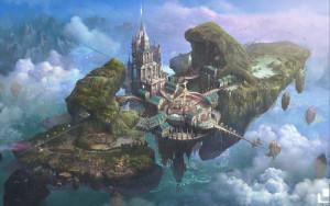Castle in the sky, autor: Sang Sub Kim