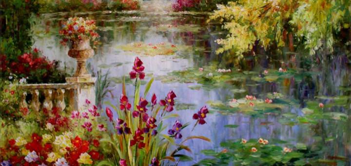 Claude Monet: Vodní lilie (1915-1920)