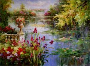 Claude Monet: Vodní lilie
