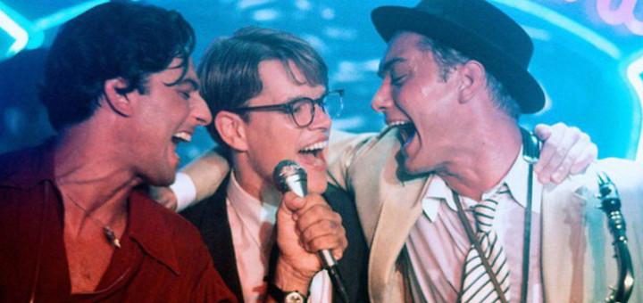 Sergio Rubini, Matt Damon a Jude Law ve filmu Talentovaný pan Ripley (USA, 1999, režie: Anthony Minghella)