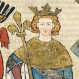 Václav II. (Codex Manesse, 1300-1340, detail)