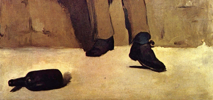 Edouard Manet: Piják absinthu (1859)