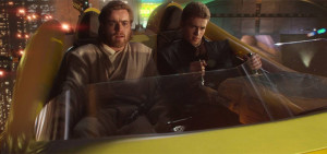 Scéna z filmu Star Wars Episode II - Attack of the Clones