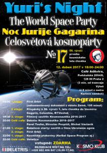 Yuri's Night №17 – Celosvětová kosmopárty