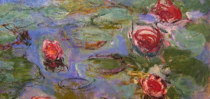 Claude Monet, Vodní lilie (detail), 1914-17