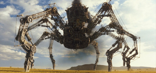 Mechanická tarantule z filmu Wild Wild West (režie: Barry Sonnenfeld, USA, 1999)