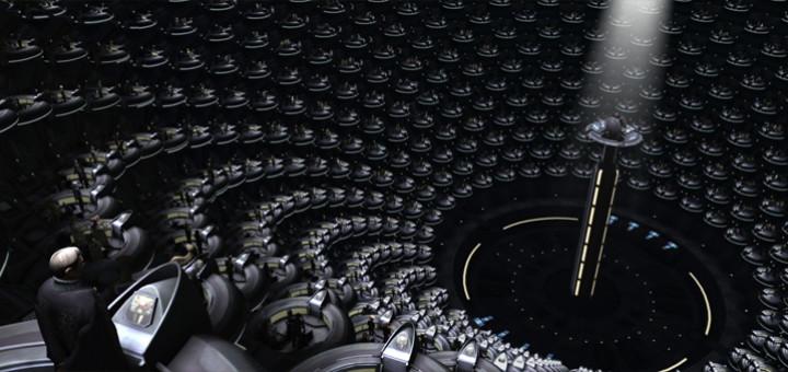 Galaktický senát (Star Wars: Epizoda I - Skrytá hrozba, USA, 1999, režie: George Lucas)