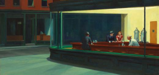 Noční ptáci (Edward Hopper, 1942)