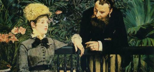 Édouard Manet: V zimní zahradě (1878-1879)
