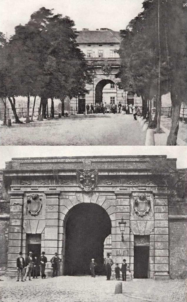Horská brána - Nová brána - Vídeňská brána (1874)