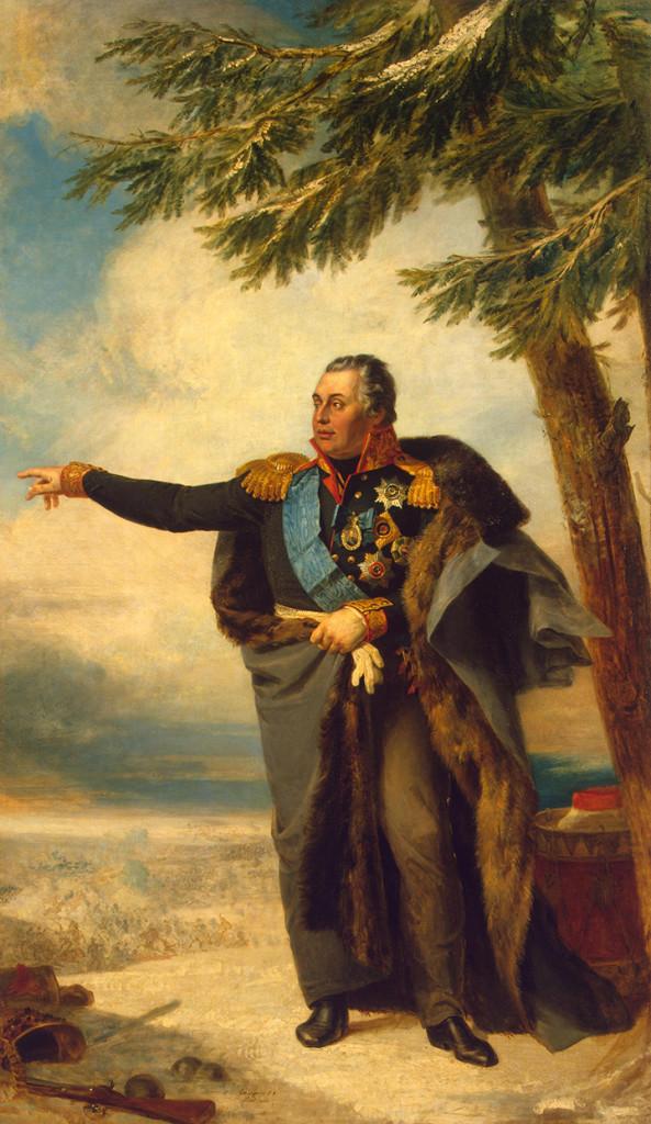 M. I. Kutuzov (autor: George Dawe, 1829)