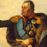 M. I. Kutuzov (autor: George Dawe, 1829, detail)