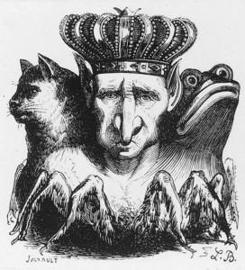 M. Jarrault: Baal (ilustrace z knihy: Dictionnaire infernal, Jacques Collin de Plancy & Louis Breton, Paříž 1818)